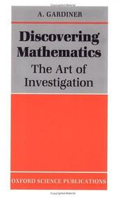 Cover of: Discovering mathematics