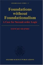 Cover of: Foundations without foundationalism