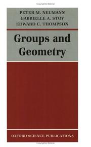 Cover of: Groups and geometry | P. M. Neumann