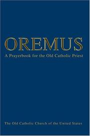 Cover of: Oremus | Bishop Andre J Queen