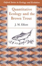Cover of: Quantitative ecology and the brown trout