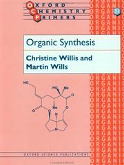 Cover of: Organic synthesis