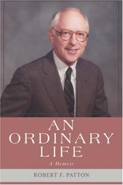 Cover of: An Ordinary Life | Robert F. Patton