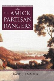 Cover of: The Amick Partisan Rangers | David J. Emmick