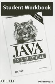 Cover of: Student Workbook Java in a Nutshell