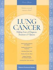 Cover of: Lung Cancer | Lorraine Johnston
