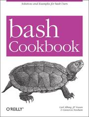 Cover of: Bash cookbook |