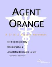 Cover of: Agent Orange