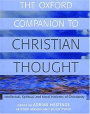 Cover of: The Oxford companion to Christian thought | Adrian Hastings, Church In Africa1450-1950, Alistair Mason, Hugh S. Pyper
