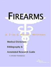 Cover of: Firearms | ICON Health Publications