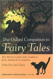 Cover of: The Oxford companion to fairy tales | edited by Jack Zipes.