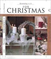 Cover of: Decorating tricks for Christmas