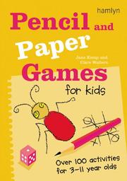 Cover of: Pencil and Paper Games for Kids | Jane Kemp