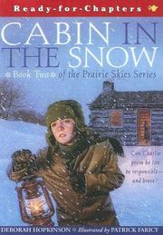 Cover of: Cabin in the Snow (Prairie Skies)