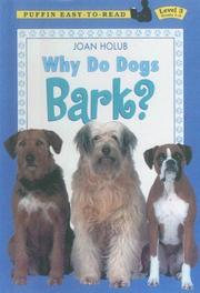 Cover of: Why Do Dogs Bark?