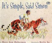 Cover of: It's Simple, Said Simon