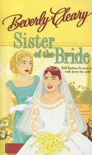 Cover of: Sister of the Bride