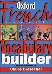 Cover of: Oxford French cartoon-strip vocabulary builder |