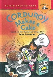 Cover of: Corduroy Makes a Cake
