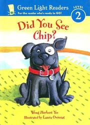 Cover of: Did You See Chip?
