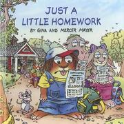 Cover of: Just a Little Homework