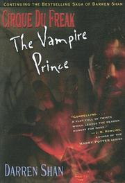 Cover of: The Vampire Prince
