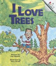 Cover of: I Love Trees | Cari Meister