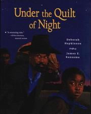 Cover of: Under the Quilt of Night