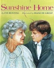 Cover of: Sunshine Home