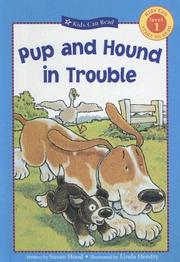 Cover of: Pup and Hound in Trouble (Kids Can Read!: Level 1 Start to Read (Library))