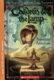 Cover of: The Akhenaten Adventure (Children of the Lamp)
