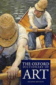 Cover of: The Oxford dictionary of art