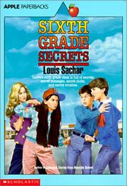 Cover of: Sixth Grade Secrets | Louis Sachar