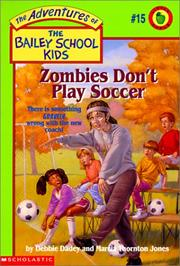 Cover of: Zombies Don