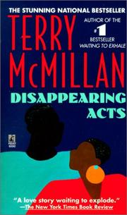 Cover of: Disappearing Acts | Terry McMillan