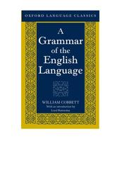 Cover of: A grammar of the English language