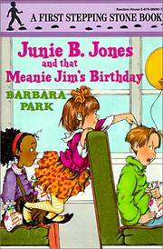 Cover of: Junie B. Jones and That Meanie Jim's Birthday (Junie B. Jones)