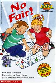 Cover of: No Fair!