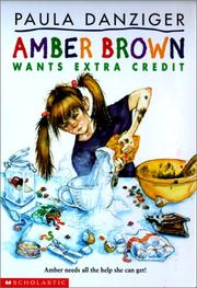 Cover of: Amber Brown Wants Extra Credit (Amber Brown)