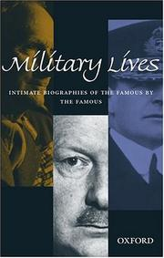 Cover of: Military lives |
