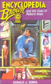 Cover of: Encyclopedia Brown and the Case of Pablo