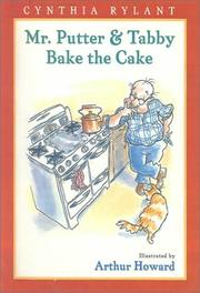 Cover of: Mr Putter & Tabby Bake the Cake |