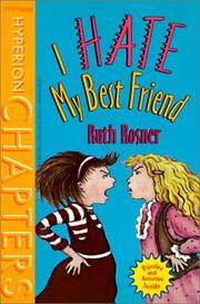 Cover of: I Hate My Best Friend (Hyperion Chapters)