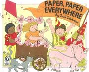 Cover of: Paper, Paper Everywhere