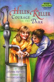 Cover of: Helen Keller: Courage in the Dark | Johanna Hurwitz