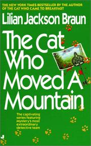 Cover of: The cat who moved a mountain