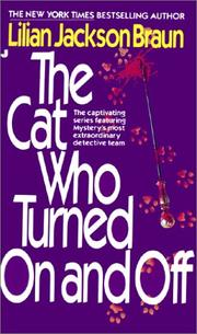 Cover of: The cat who turned on and off