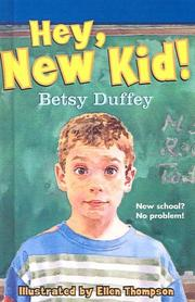 Cover of: Hey, New Kid!