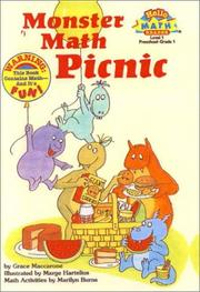 Cover of: Monster Math Picnic (Hello Reader! Math Level 1) | Grace MacCarone