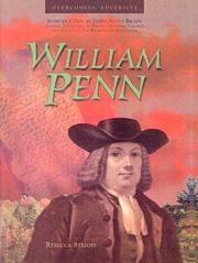 Cover of: William Penn (Overcoming Adversity)